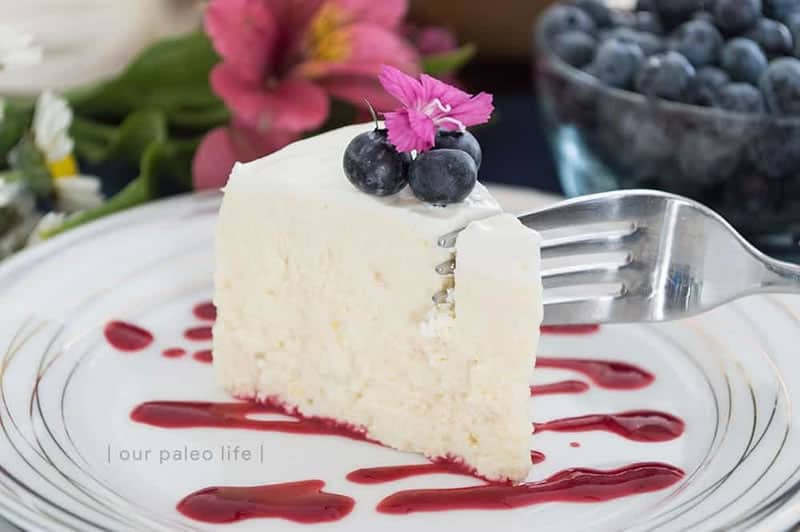 Instant Pot Keto Cheesecake