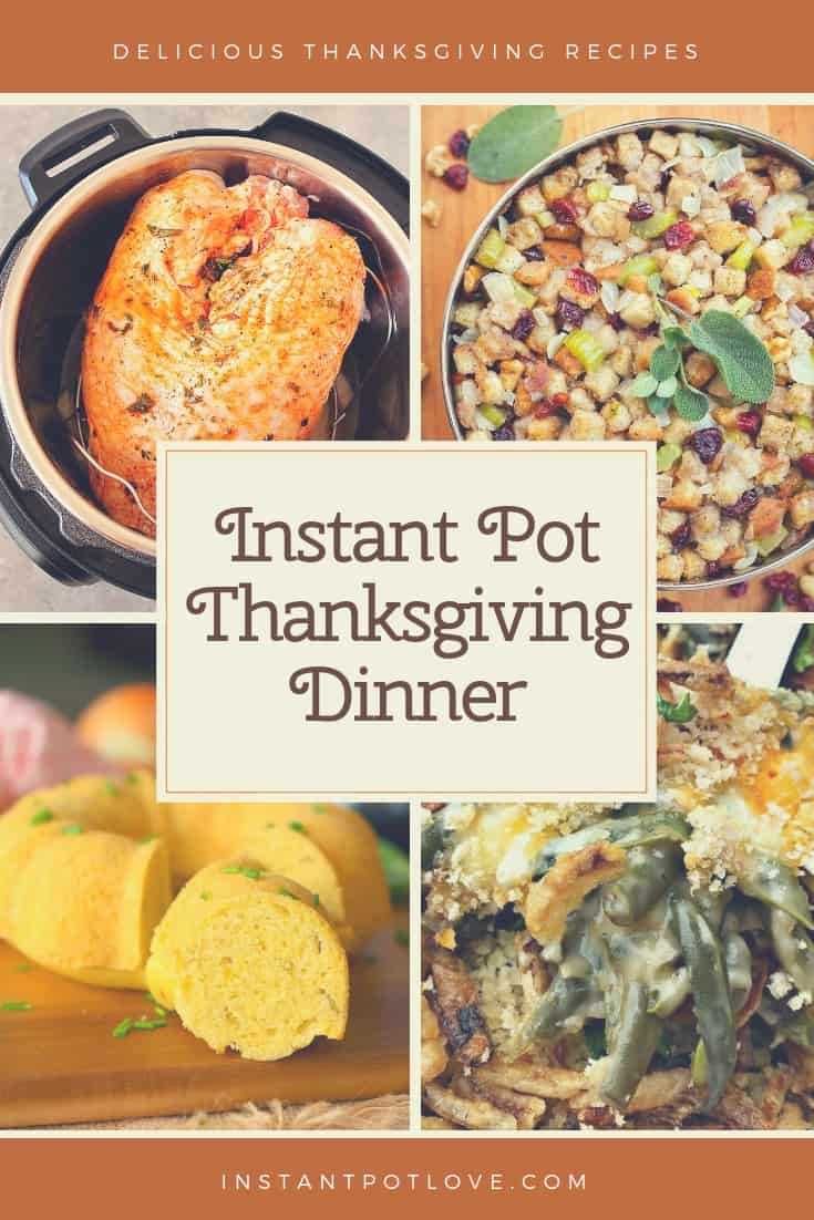 Instant Pot Thanksgiving Dinner Recipes