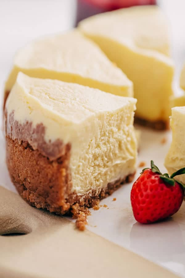 New York Style Instant Pot Cheesecake