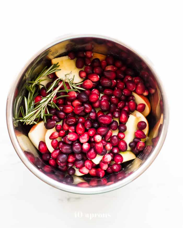 Instant Pot Whole 30 Cranberry sauce
